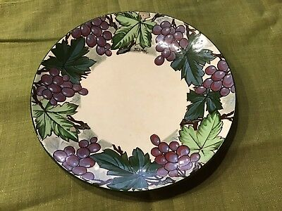 Antique Mintons Hand Painted Plate Signed By S.Dean