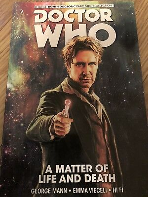 Doctor Who 8 Vol 1 - A Matter Of Life And Death TPB Graphic Novel