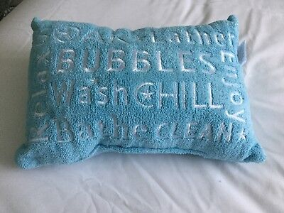 Embroidered Bath Pillow - New