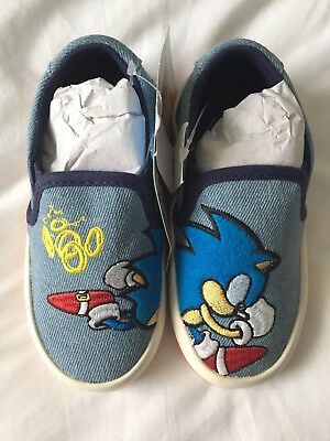 0c560e048752 SONIC THE HEDGEHOG Trainers SIZE 11 1 2 Clarks 1990s Sneakers Shoes ...