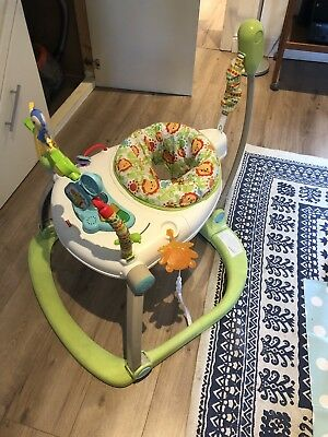 Fisher-Price Rainforest Spacesaver Jumperoo CHN38 Portable Baby Chair