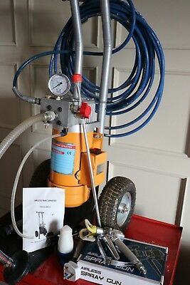 Airless Paint Sprayer | 240v 1.2hp Pump, Spraygun, Hose etc | LTS ET000084