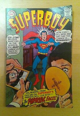 DC Superboy comic - No. 145 - March - 1968 - vg+ condition