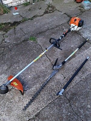 4 Mix Stihl Kombi + Hedge Cutter Ext And Brush Cutter Strimmer + Husqvarn Oil