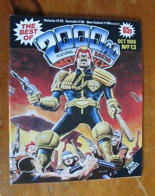 2000AD - Best of 2000AD Monthly 13  (1986)