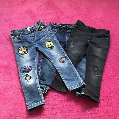 Boys Jeans And Shorts Bundle Age 2-3 Next M And S