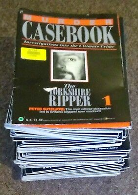 Murder Casebook Magazine - 97 Issue Collection