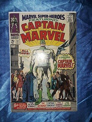 Marvel Super-Heroes #12  Origin & first appearance of Captain Marvel