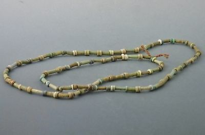 SHABTISHOP Ancient Egyptian Mummy Bead Necklace, Late Period (664-332 BC)