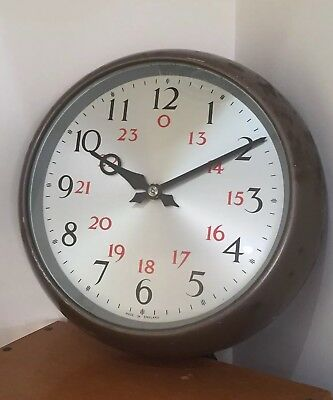 "Synchronome 9""Slave Clock Gents Of Leicester Esc Smiths"