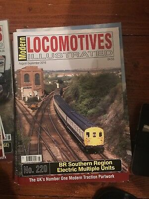 Modern Locomotives Illustrated No.220 Southern Region EMU's