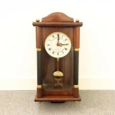Vintage Wall Wooden Chiming Clock With Westminster Chime Quartz Clock Japan