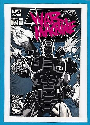 INVINCIBLE IRON MAN #282_JULY 1992_VERY FINE+_1st APPEARANCE OF WAR MACHINE!