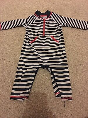 Boys Striped Swimsuit 6-9 Months