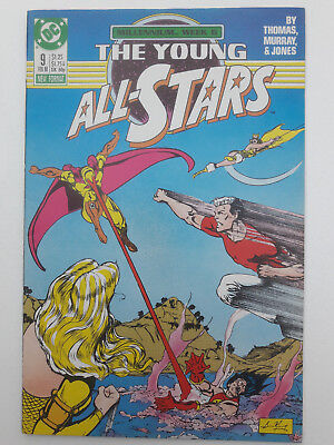 THE YOUNG ALL-STARS #9, 1988, FN+ 6.5, Millennium, Green Lantern, Roy Thomas