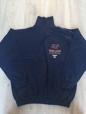 Michael Jackson Original 1992 Levi Olympic Stadium Stockholm Tour Jumper