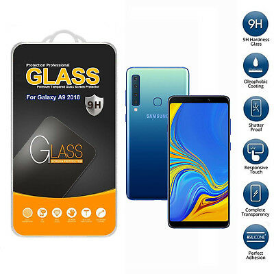 For Samsung Galaxy A9 2018 Tempered Glass Mobile Phone Screen Protector