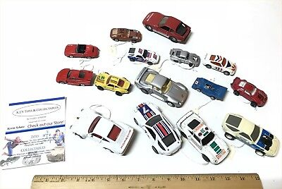 Huge Diecast Porsche Cars Toy Lot of 15 Different Collectors & Limited Cars