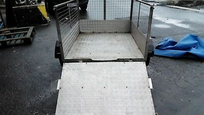 Ifor Williams tipper trailer, 8 x 5 tipping trailer 2700kg twin axle braked