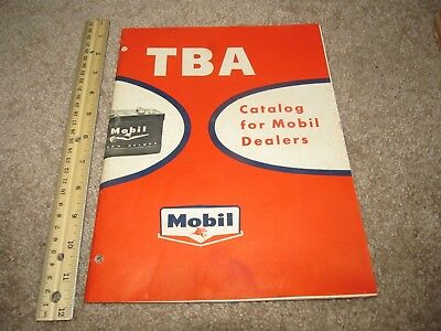 Vintage Catalog for Mobil Dealers Gas Company