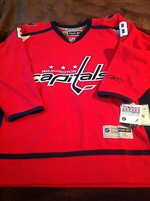 9515a25aedf Alex Ovechkin Washington Capitals Reebok Nhl Home Premiere Xl Jersey With  Tags