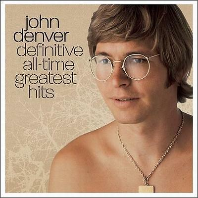 Definitive All-Time Greatest Hits by John Denver (CD, 2008, Sony Music)