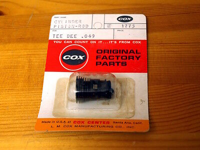 Genuine Cox TeeDee # 1775 - 049  #4 High Performance Piston and Liner Assembly