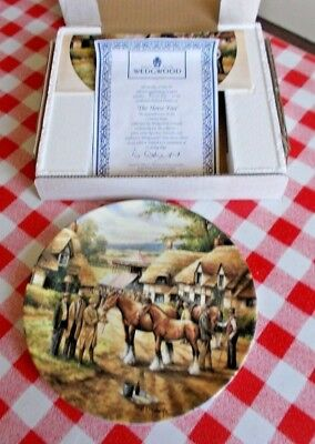 'The Horse Fair'  Wedgwood Fine Bone China Collectors Plate - Country Days -
