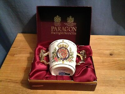 A  Paragon Commemorative Loving Cup - Charles & Diana Wedding - 1981