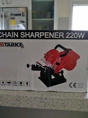 Chain Sharpener 220W Starke PRO ** Brand New in Box ** Never Used **