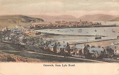Gourock, SCOTLAND UK ~ Bird's eye view from Lyle Road - homes harbor 191?