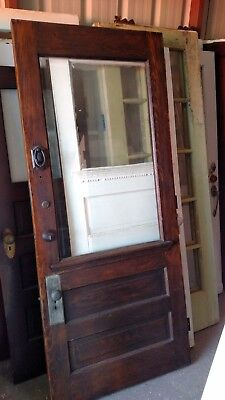 Chestnut Exterior Front Door Or Entry Door Large  View Bevelled Glass