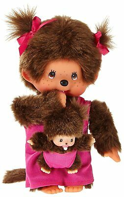 Monchhichi Mother Care with Baby Pink