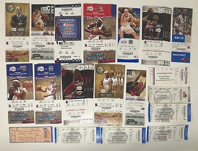(40) Los Angeles CLIPPERS NBA Ticket LOT 1996-2010 BASKETBALL Elton Brand Wilcox