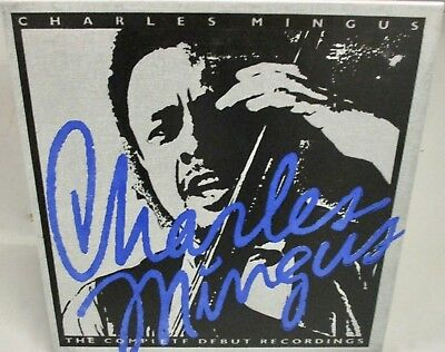DEBUT 12-CD Box Set 12-DCD-4402-2 Charles Mingus - The Complete Debut Recordings