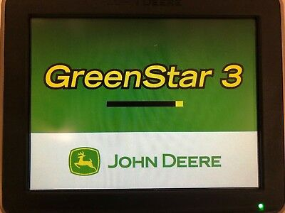 John Deere Greenstar GS3 2630 Display Monitor w/ AutoTrac SF2 Swath Activation