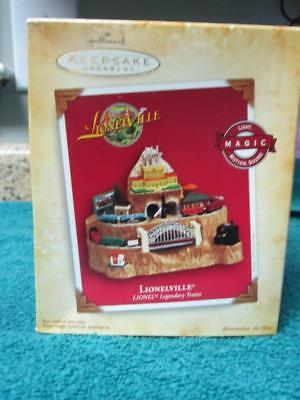 Hallmark, Lionelville Lionel Legendary Trains, Light, Motion, Sound Ornament