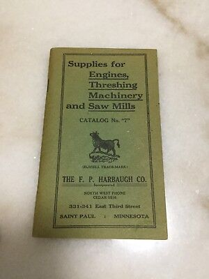 Russell Tractor Saw Mills Company Equipment Supplies Catalog 1910