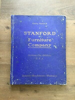 Large Catalog - Stanford Furniture Oklahoma City 1918 W/ Price List Mission Oak