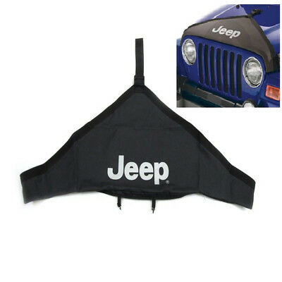 TJ Hood Cover Jeep Logo Bra Protector Kit Fit For 2007-2016 Jeep Wrangler