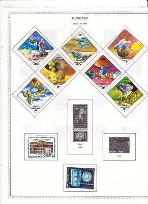 Small Mint Hungary Collection On Minkus Album Pages/Glassines (1978-79) - SEE!!!