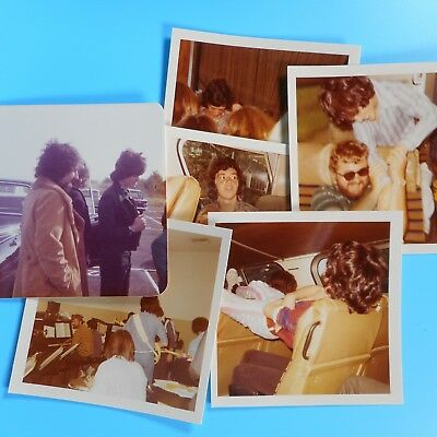6 Lot VTG 70s Donny Osmond Brothers Jay Photos Tour Bus Rehearsal Originals