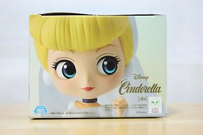 New Cinderella Q posket Disney Princess Wedding Style Figure Japan With Tracking