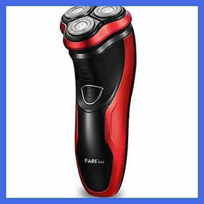 FARI Rotary Electric Razor Shaver with Pop-up Trimmer, Wet & Dry Rechargeable El