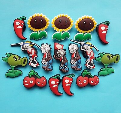 Plants vs Zombies Cake Decorations x 16 Cupcake Toppers Garden Warfare NEW