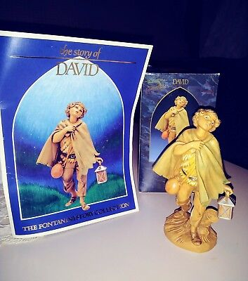 * Vtg Heirloom Fontanini Nativity Figure *David* Innkeeper's Nephew *