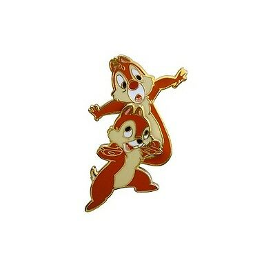 Disney Parks Chip & Dale Balancing Pin New On Card Walt Disney World