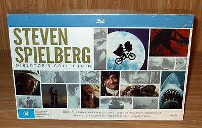 Steven Spielberg Director's (8-Movie Collection) Blu-rays Box Set New & Sealed