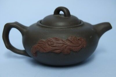 Very Interesting Chinese Yixing Teapot With Seal Marks - Rare - L@@k