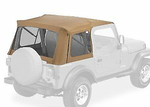 Bestop 51600-37 Spice Supertop Classic Replacement Soft Top with Clear Window...